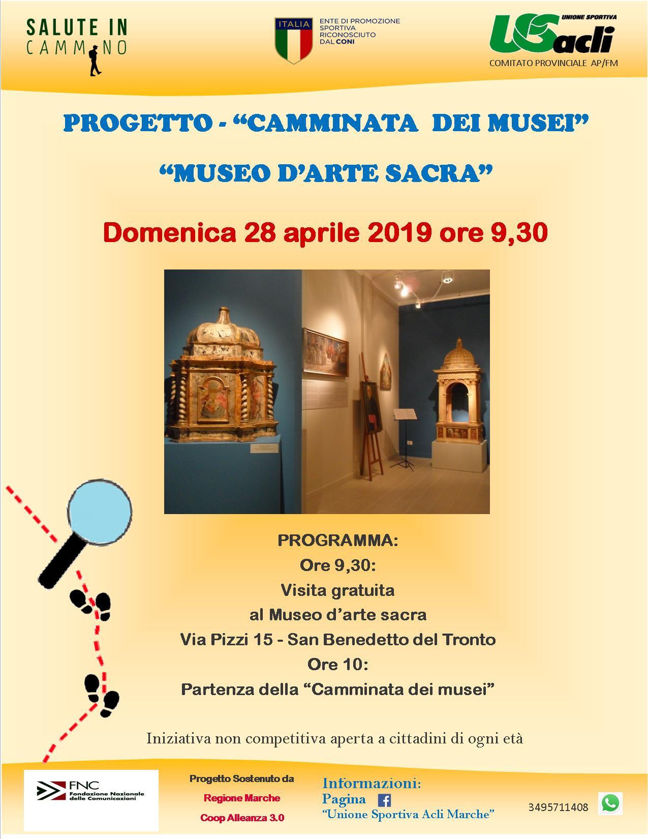 La camminata dei Musei fa tappa a San Benedetto del Tronto