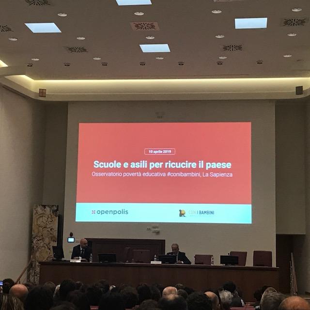 Rapporto nazionale sulla povertà educativa minorile in Italia