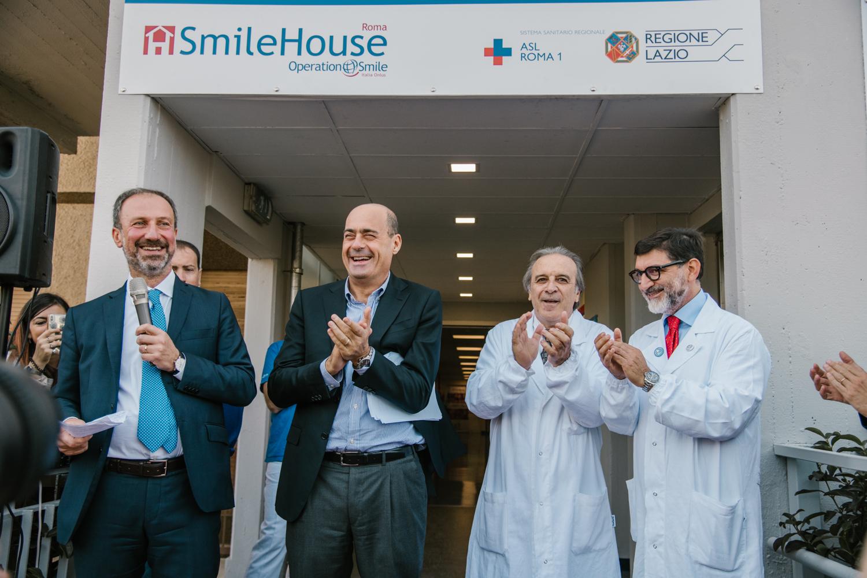 Taglio del nastro per il nuovo Centro di Cura Multispecialistico Smile House di Roma